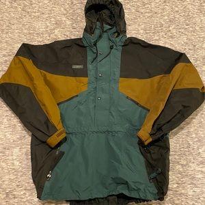 Vintage Columbia jacket with zip away hood